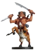 D&D Miniatures - Click to view the stats for Bariaur Ranger Miniature