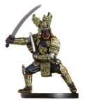 D&D Miniatures - Click to view the stats for Dragon Samurai Miniature