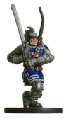 D&D Miniatures - Click to view the stats for Exorcist of the Silver Flame Miniature