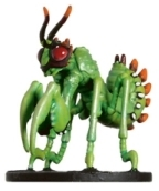 D&D Miniatures - Click to view the stats for Fiendish Giant Praying Mantis Miniature