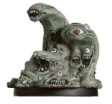 D&D Miniatures - Click to view the stats for Gibbering Mouther Miniature