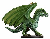 D&D Miniatures - Click to view the stats for Green Dragon Miniature