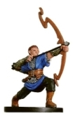 D&D Miniatures - Click to view the stats for Half-Elf Bow Initiate Miniature