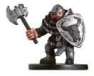 D&D Miniatures - Click to view the stats for Hill Dwarf Warrior Miniature