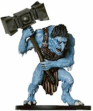 D&D Miniatures - Click to view the stats for Ice Troll Miniature
