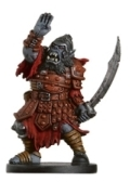 D&D Miniatures - Click to view the stats for Orc Sergeant Miniature