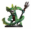 D&D Miniatures - Click to view the stats for Sahuagin Ranger Miniature