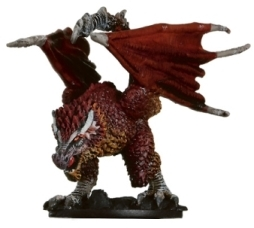 D&D Miniatures - Click to view the stats for Wyvern Miniature