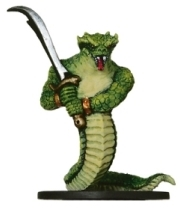 D&D Miniatures - Click to view the stats for Yuan-Ti Abomination Miniature
