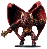 D&D Miniatures - Click to view the stats for Aspect of Orcus Miniature
