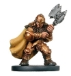 D&D Miniatures - Click to view the stats for Gold Dwarf Fighter Miniature