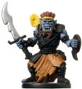 D&D Miniatures - Click to view the stats for Orc Raider Miniature
