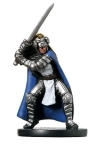 D&D Miniatures - Click to view the stats for Paladin of Torm Miniature