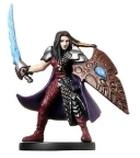D&D Miniatures - Click to view the stats for Ragnara, Psychic Warrior Miniature