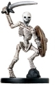 D&D Miniatures - Click to view the stats for Warrior Skeleton Miniature