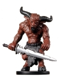 D&D Miniatures - Click to view the stats for Young Minotaur Miniature
