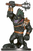 D&D Miniatures - Click to view the stats for Blackscale Lizardfolk Miniature