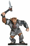 D&D Miniatures - Click to view the stats for Bugbear Champion of Erythnul Miniature