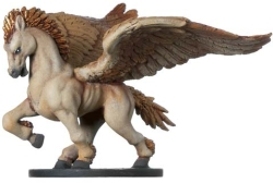 D&D Miniatures - Click to view the stats for Celestial Pegasus Miniature