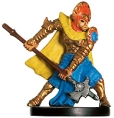 D&D Miniatures - Click to view the stats for Cleric of Dol Arrah Miniature