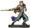 D&D Miniatures - Click to view the stats for Divine Crusader of Corellon Miniature