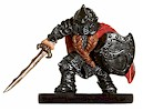 D&D Miniatures - Click to view the stats for Dwarf Mercenary Miniature