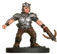 D&D Miniatures - Click to view the stats for Dwarf Raider Miniature