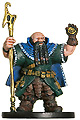 D&D Miniatures - Click to view the stats for Dwarf Wizard Miniature