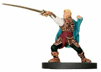 D&D Miniatures - Click to view the stats for Elf Swashbuckler Miniature