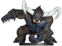 D&D Miniatures - Click to view the stats for Feral Minotaur Miniature