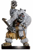 D&D Miniatures - Click to view the stats for Orc Wolf Shaman Miniature