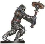 D&D Miniatures - Click to view the stats for Orog Warlord Miniature