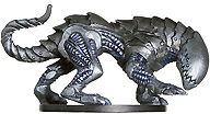 D&D Miniatures - Click to view the stats for Steel Predator Miniature