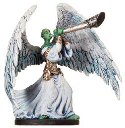 D&D Miniatures - Click to view the stats for Trumpet Archon Miniature