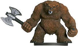 D&D Miniatures - Click to view the stats for Werebear Miniature