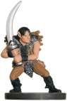 D&D Miniatures - Click to view the stats for Wild Elf Raider Miniature