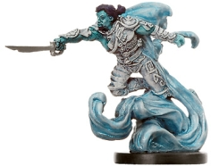 D&D Miniatures - Click to view the stats for Air Genasi Swashbuckler Miniature