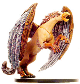 D&D Miniatures - Click to view the stats for Arcadian Hippogriff Miniature