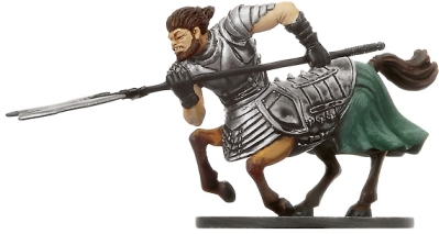 D&D Miniatures - Click to view the stats for Centaur War Hulk Miniature