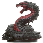 D&D Miniatures - Click to view the stats for Fiendish Snake Miniature