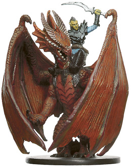 D&D Miniatures - Click to view the stats for Githyanki Dragon Knight Miniature