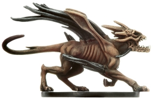 D&D Miniatures - Click to view the stats for Howler Miniature