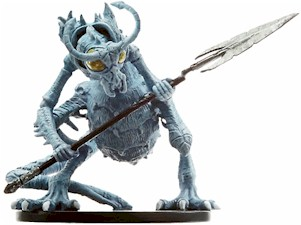D&D Miniatures - Click to view the stats for Ice Devil Miniature