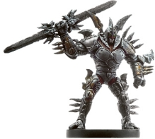 D&D Miniatures - Click to view the stats for Lord of Blades Miniature
