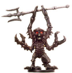 D&D Miniatures - Click to view the stats for Mezzoloth Miniature