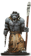D&D Miniatures - Click to view the stats for Orc Wizard Miniature