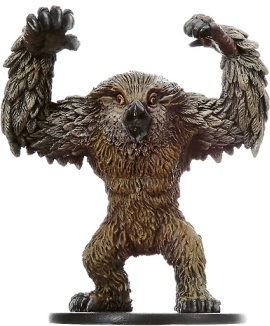 D&D Miniatures - Click to view the stats for Owlbear Rager Miniature