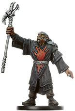 D&D Miniatures - Click to view the stats for Red Hand War Sorcerer Miniature