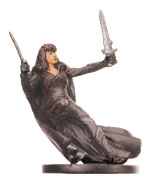 D&D Miniatures - Click to view the stats for Shadowdancer Miniature