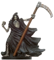 D&D Miniatures - Click to view the stats for Skeletal Reaper Miniature